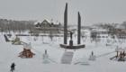 Гагарин. Пришла зима