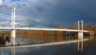 Пешеходный мост в Зауральную рощу