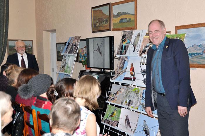 Виталий Молчанов приветствовал собравшихся.